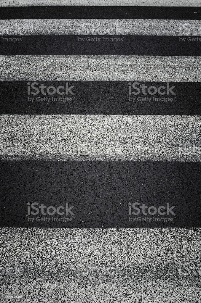 Zebra traffic walk way background stock photo