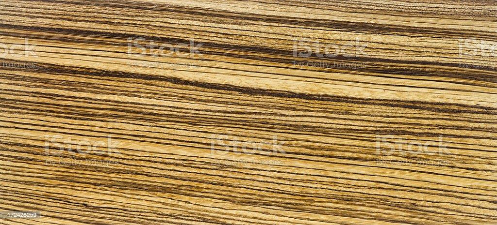 Zebra Wood Background stock photo