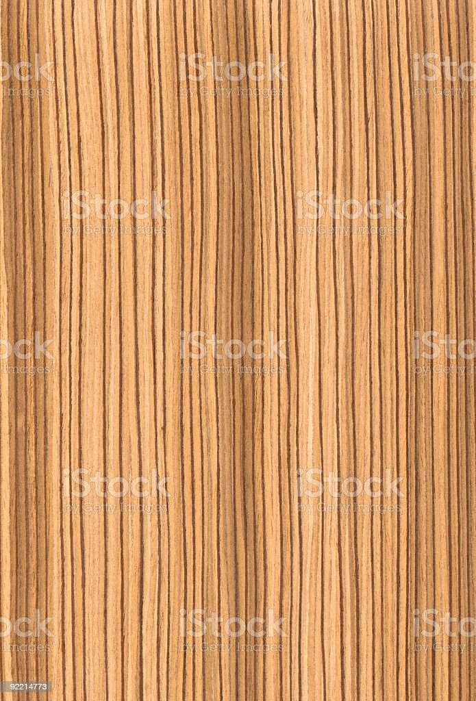 Zebrawood - Wood Texture Series royalty-free stock photo