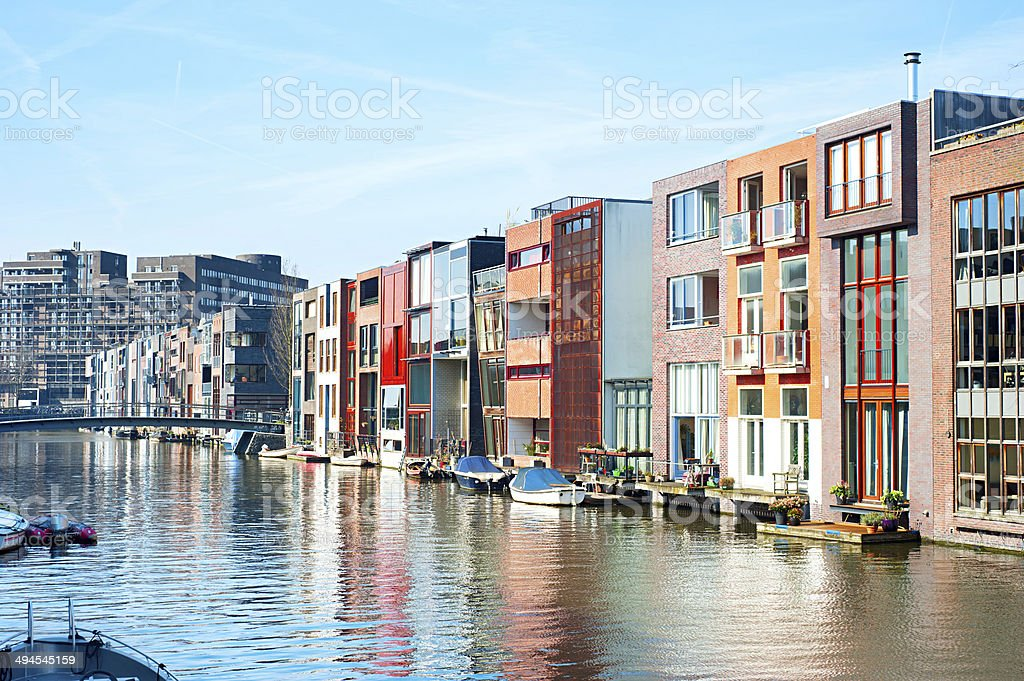 Zeeburg, Amsterdam stock photo