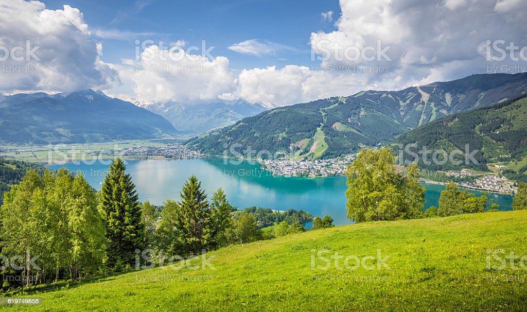 Zell am See, Salzburger Land, Austria stock photo