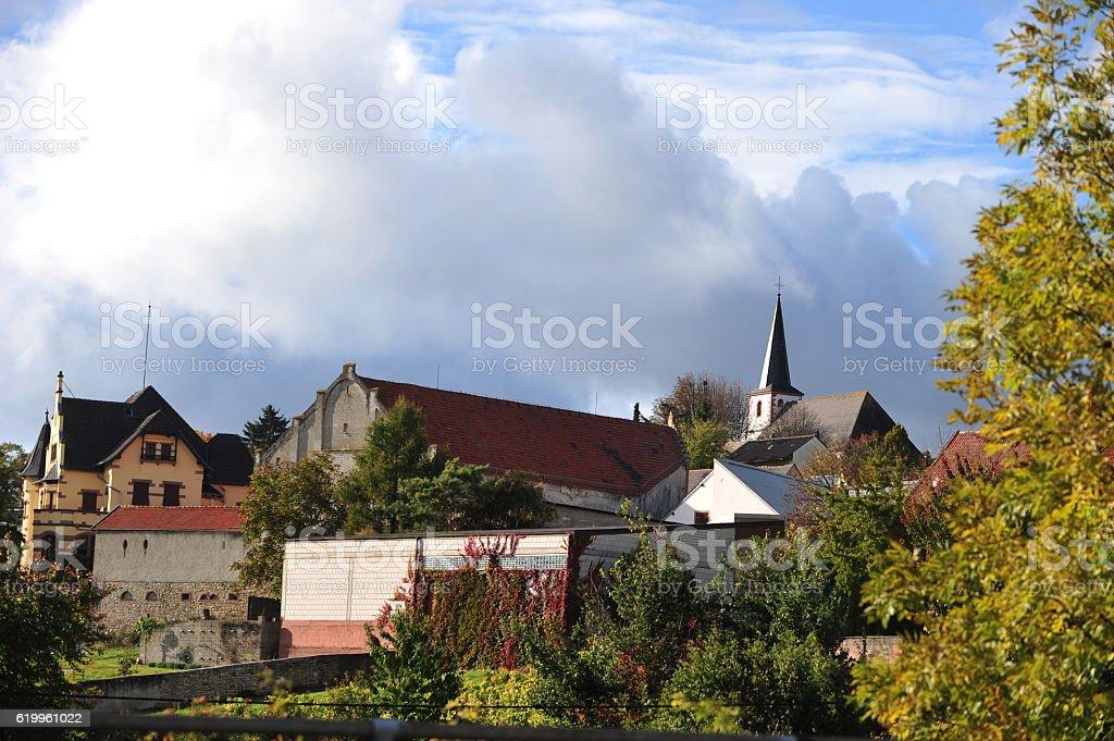 Zellertal, Germany stock photo
