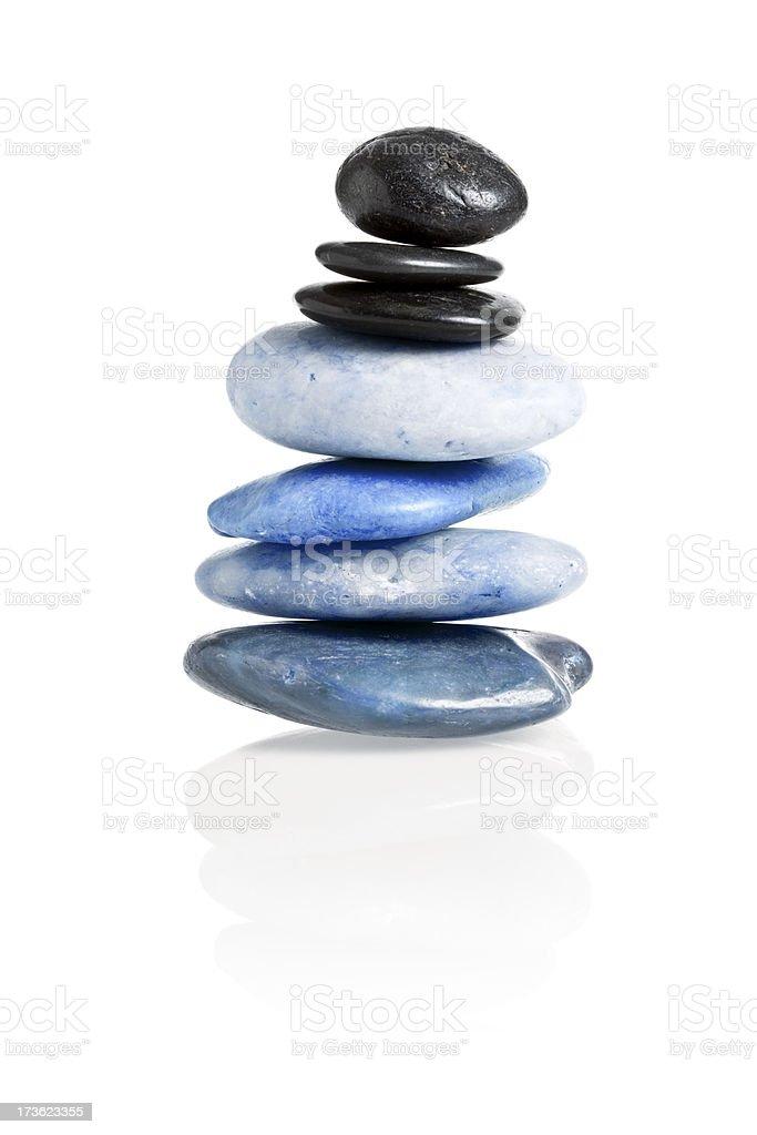 Zen Balance royalty-free stock photo