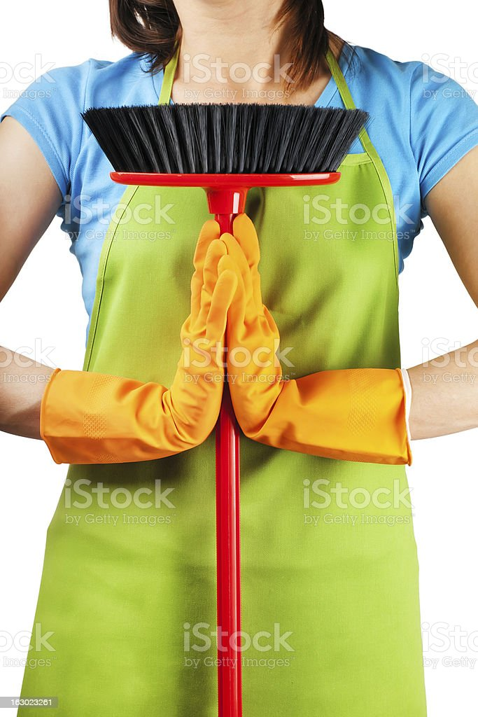 zen cleaning royalty-free stock photo