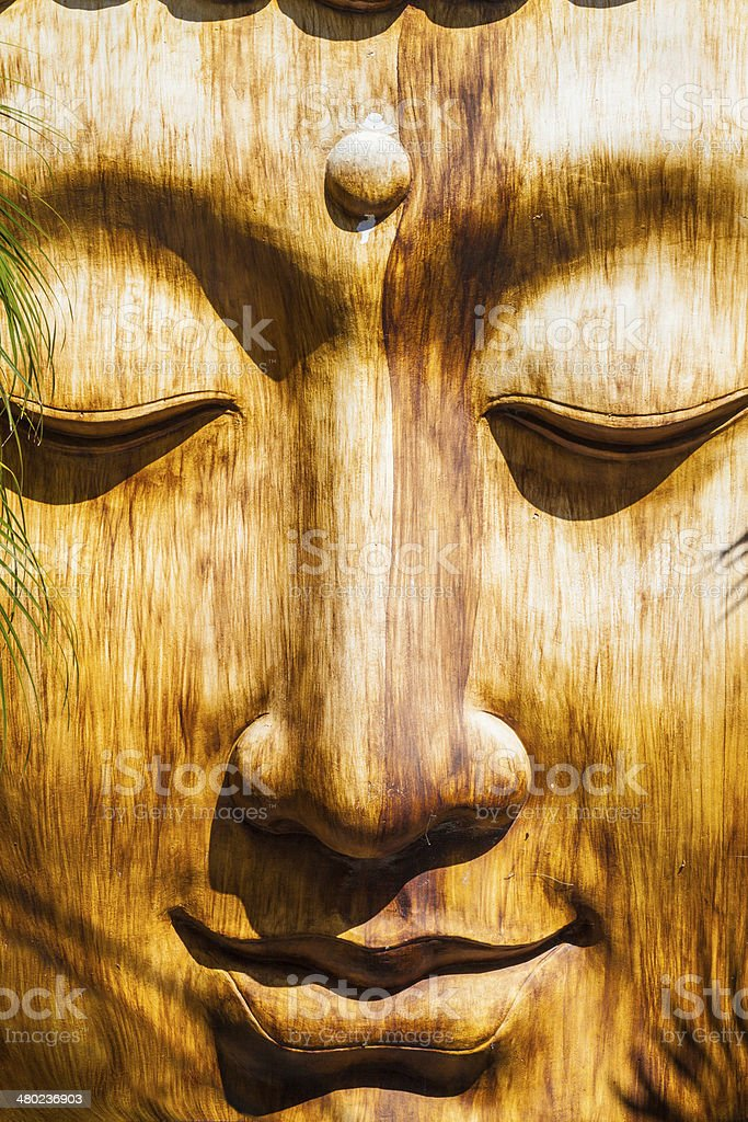 Zen Face stock photo