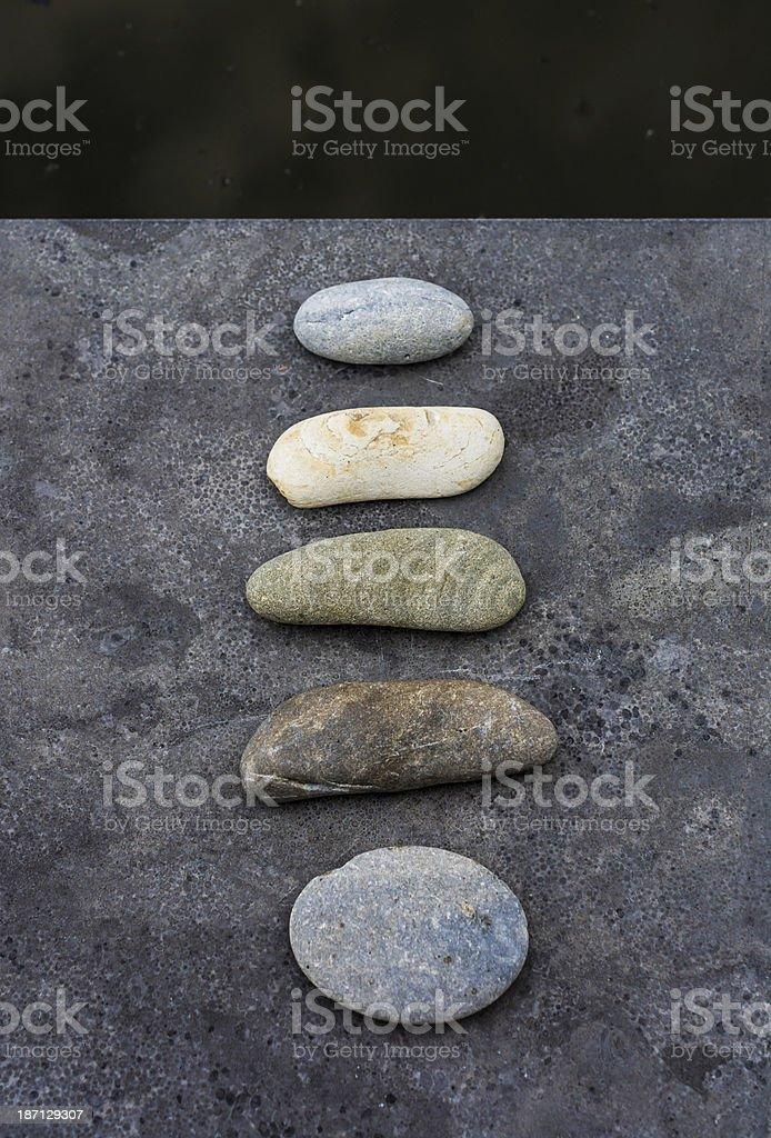 zen flat stack royalty-free stock photo