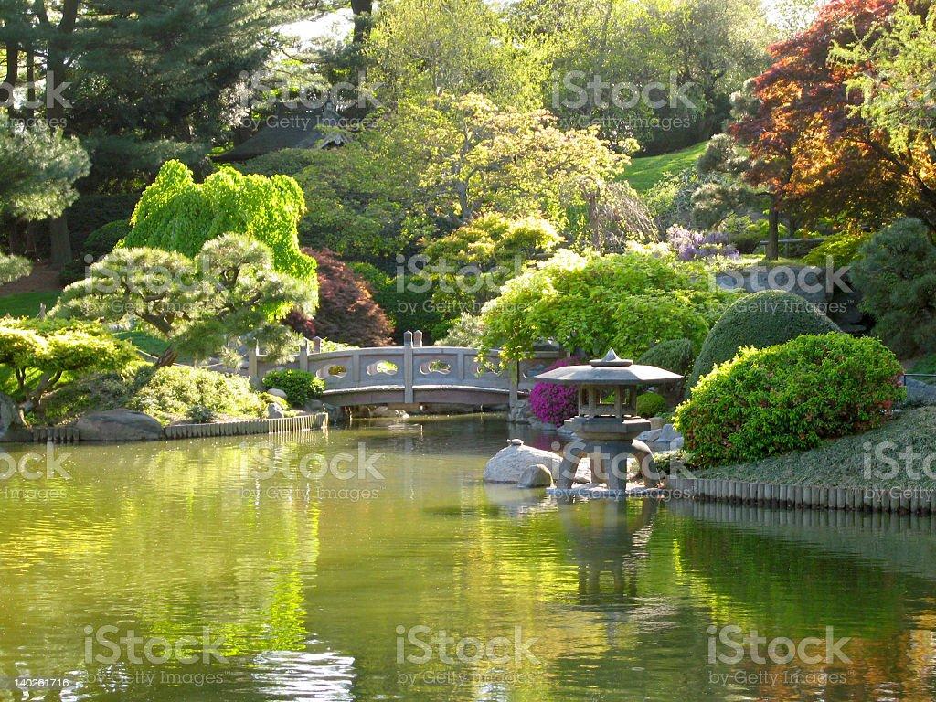 Zen Garden royalty-free stock photo