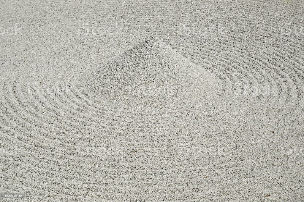 zen garden royalty-free stock photo
