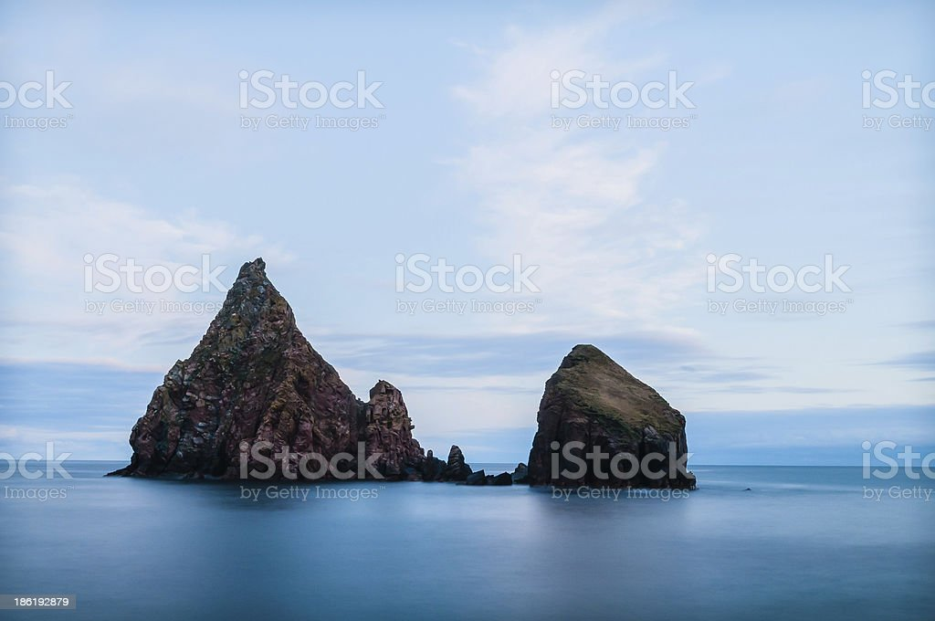 Zen image  North Roe Lang Ayre Ronas Hill Shetland Scotland royalty-free stock photo