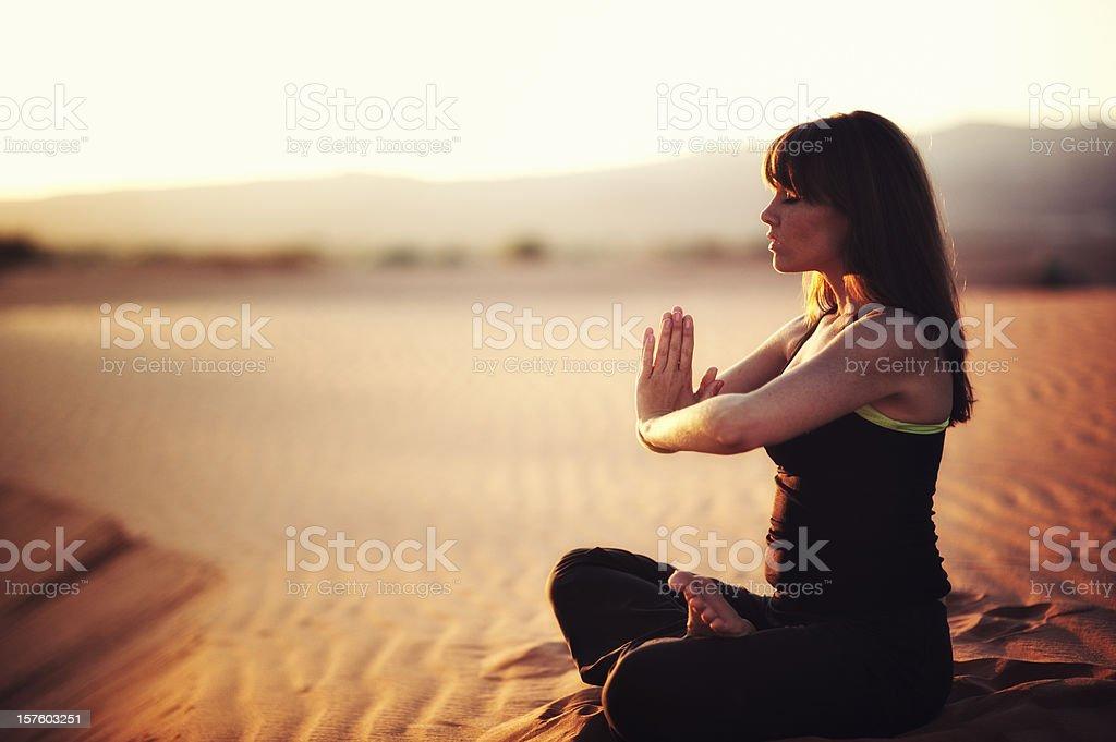 Zen Like royalty-free stock photo