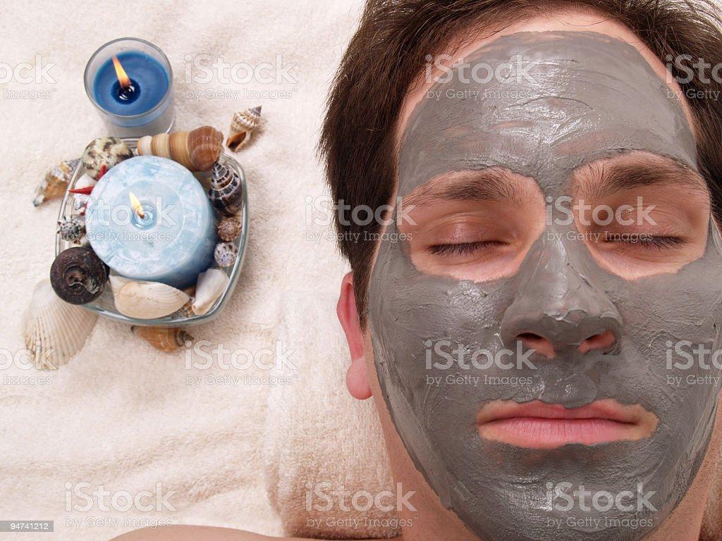 Zen Man stock photo