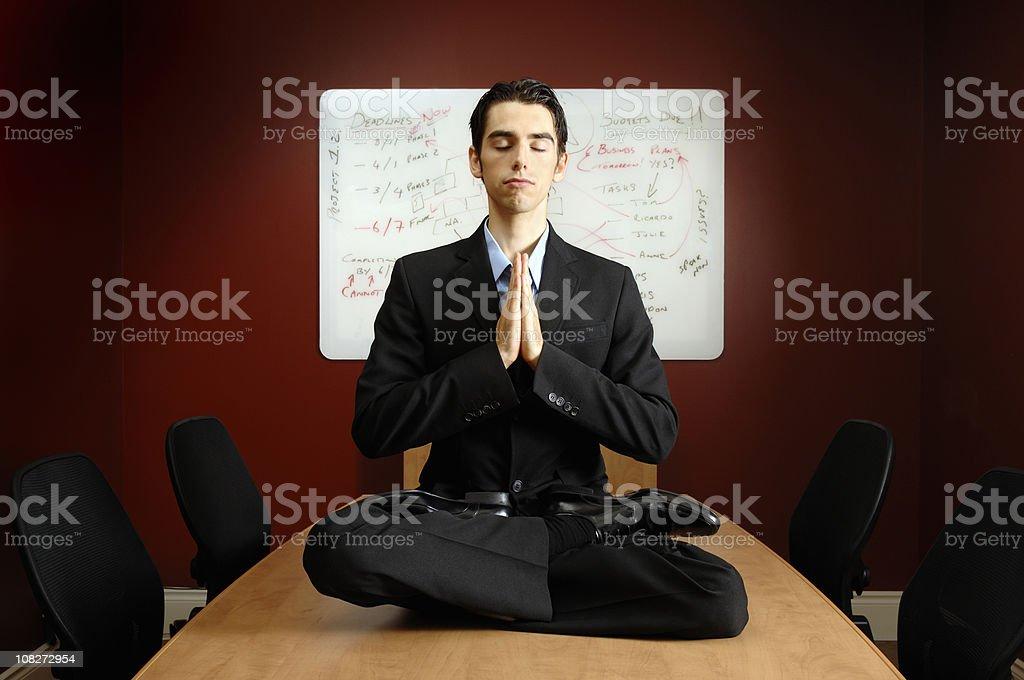 Zen moment stock photo