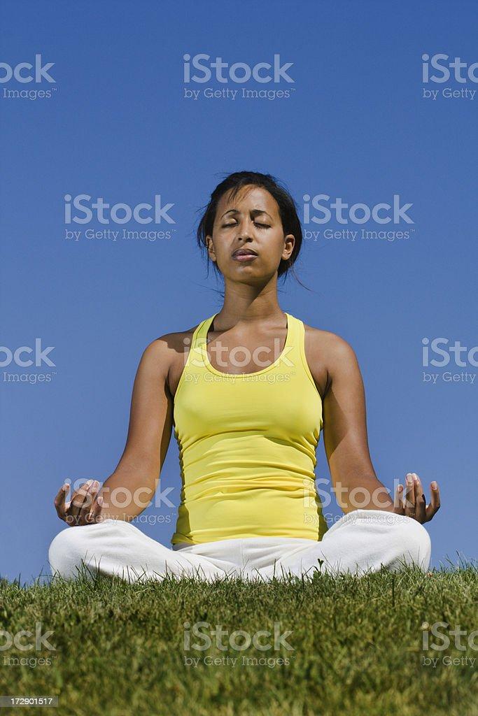 Zen Moment royalty-free stock photo