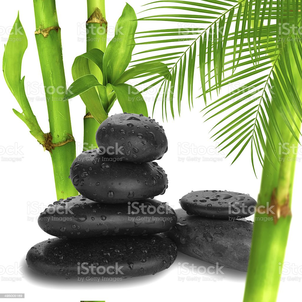Zen pebbles. Stone spa and healthcare concept. royalty-free stock photo