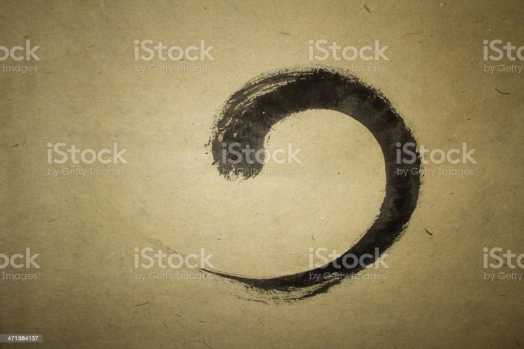 Zen stock photo