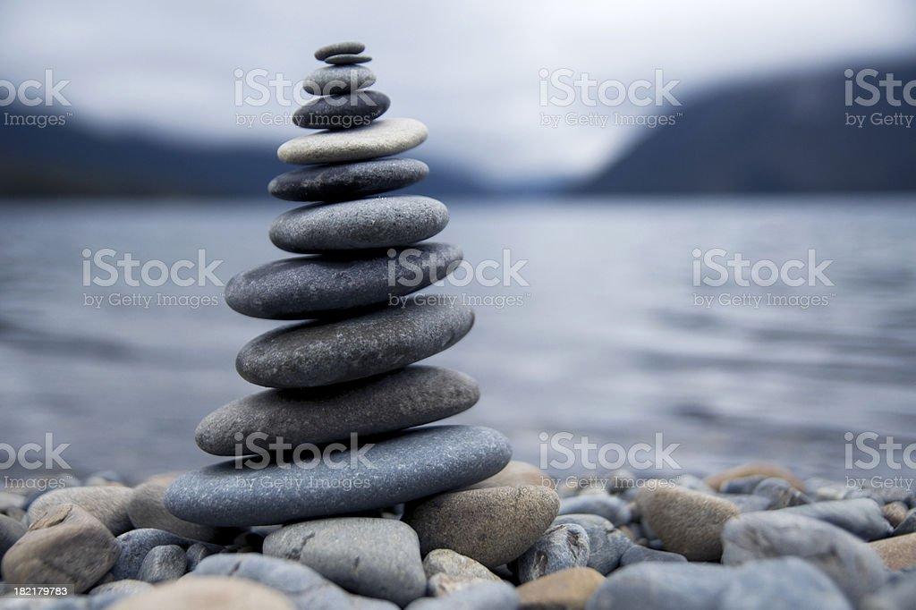 Zen Rocks stock photo