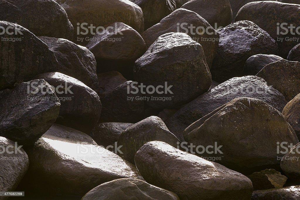 Zen Rocks royalty-free stock photo