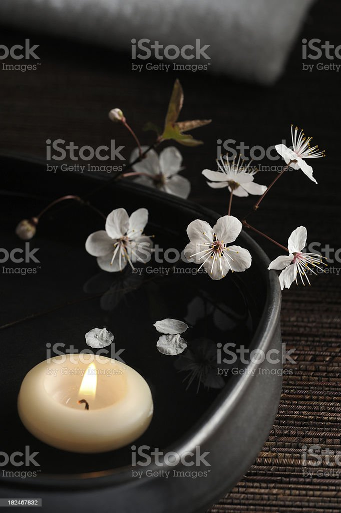Zen Spa Still Life stock photo