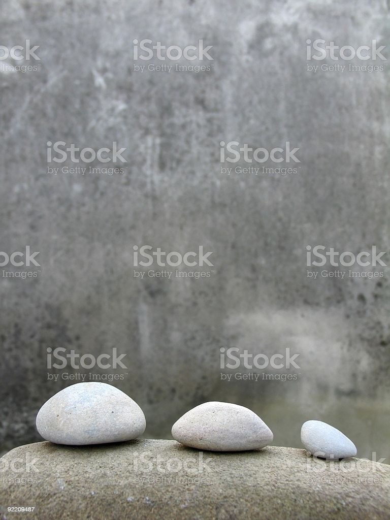Zen still life stock photo