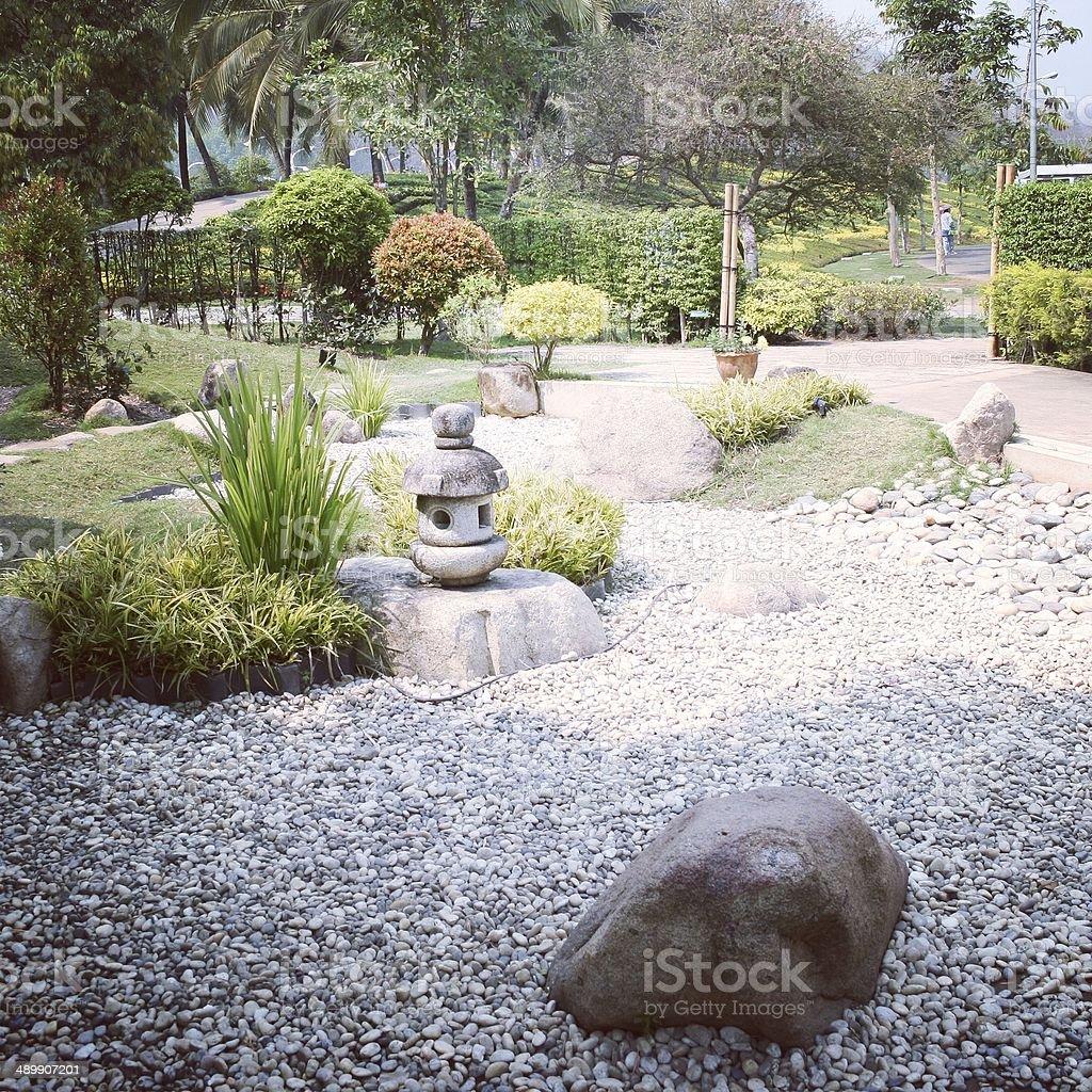 zen камень сад стиль Стоковые фото Стоковая фотография