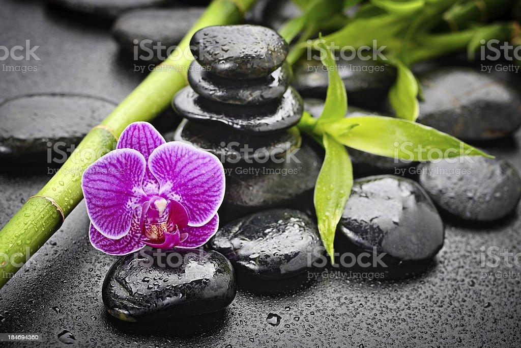 zen stones royalty-free stock photo