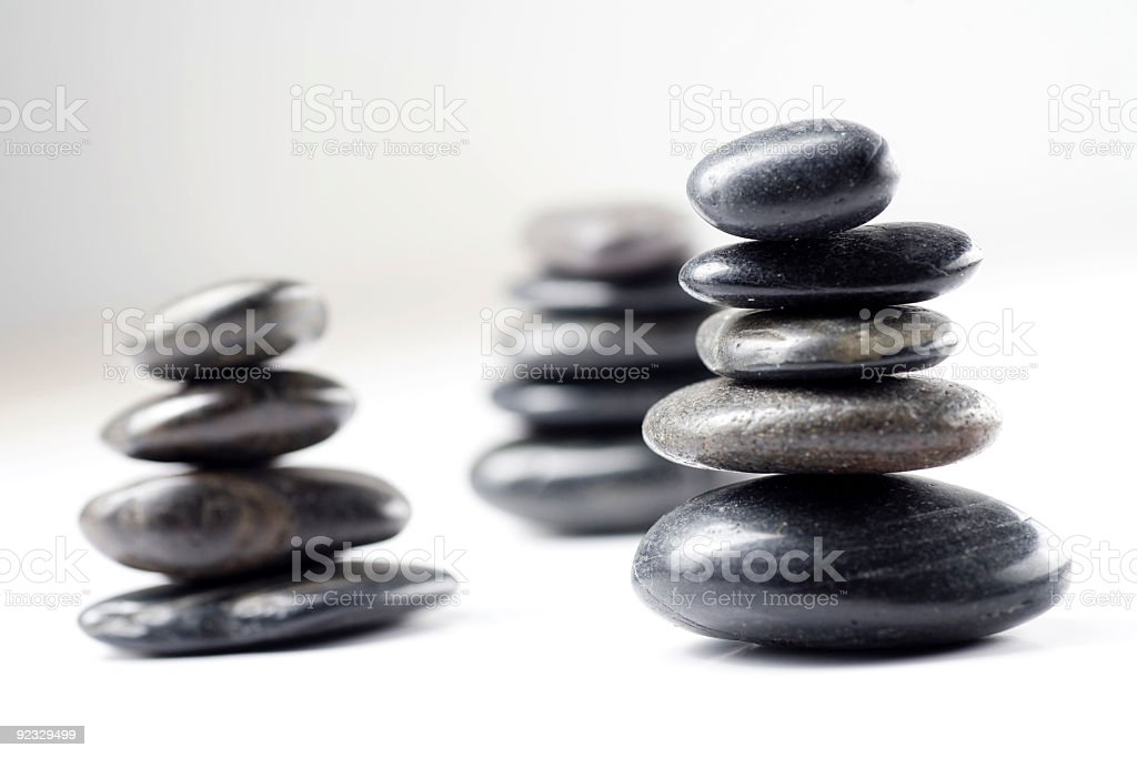 zen stones royalty-free stock photo