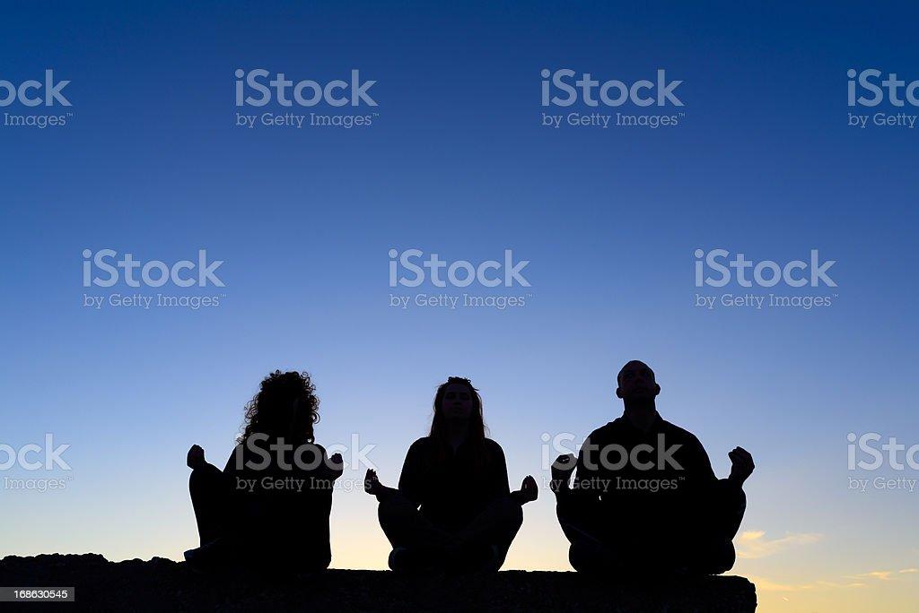 zen-like royalty-free stock photo