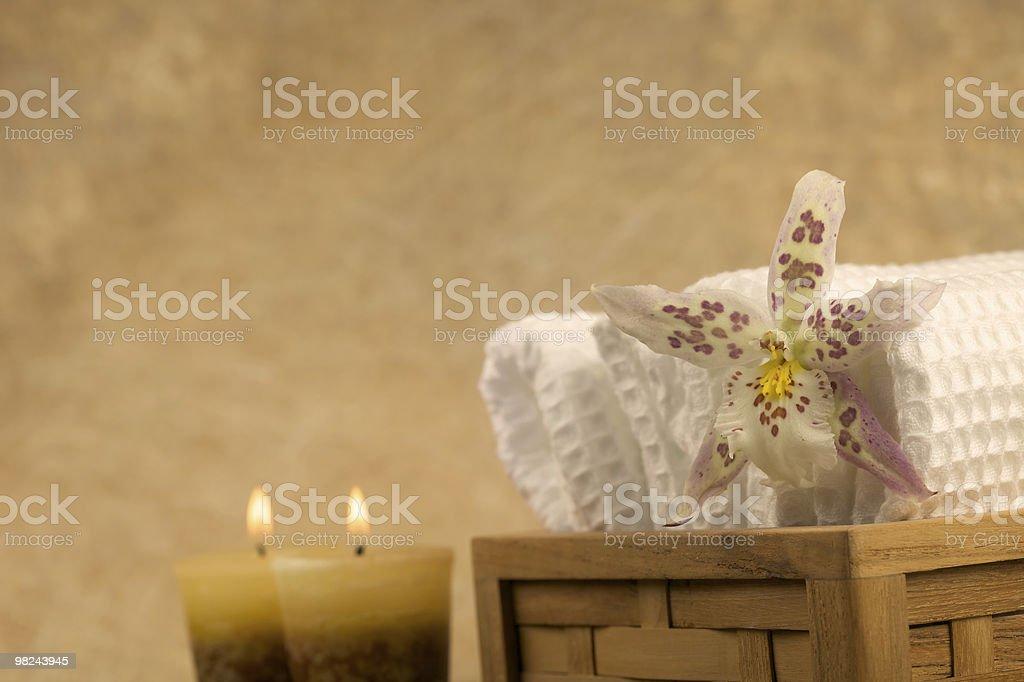 Zen-like scene royalty-free stock photo