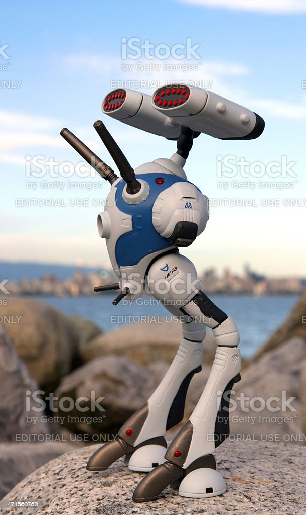 Zentraedi Invasion royalty-free stock photo