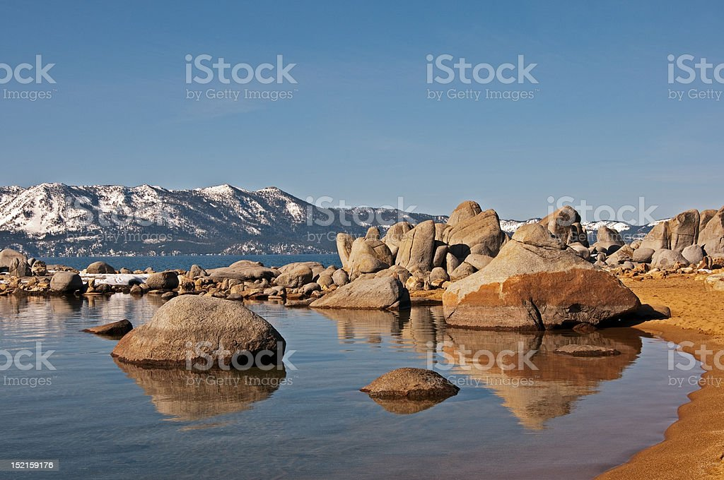 Zephyr Cove, Lake Tahoe royalty-free stock photo
