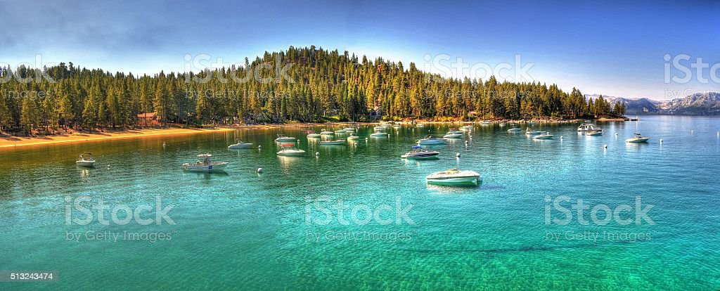 Zephyr Cove Lake Tahoe stock photo