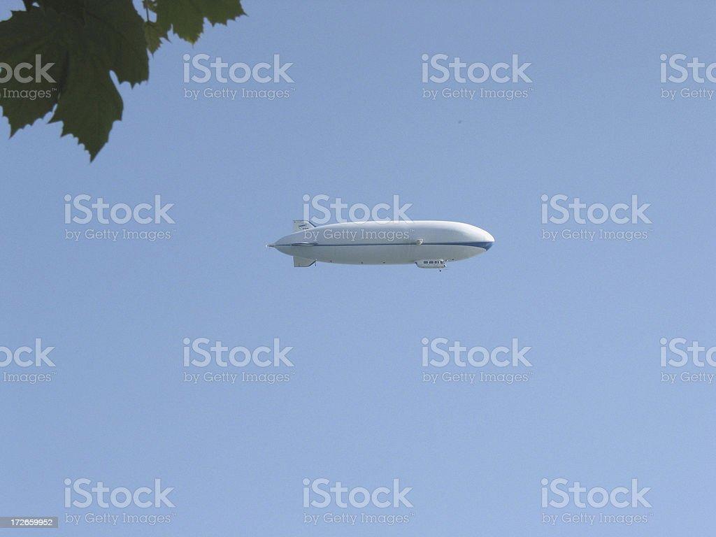 Zeppelin royalty-free stock photo