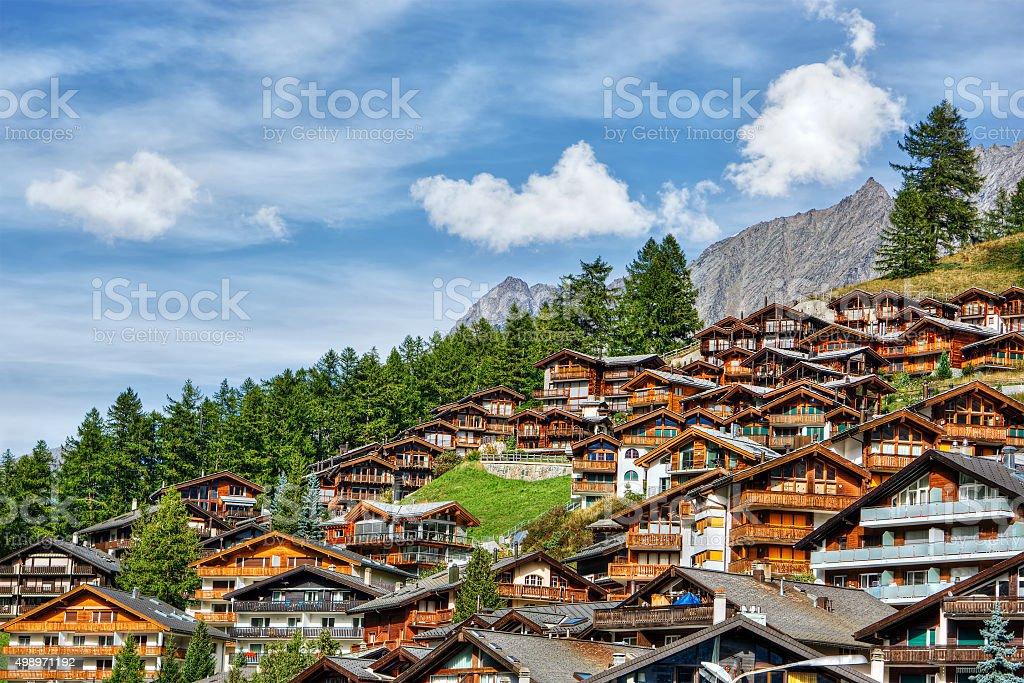 Zermatt HDR stock photo