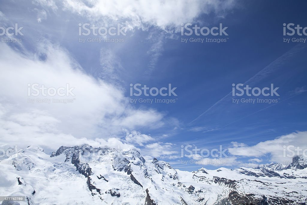 Zermatt royalty-free stock photo