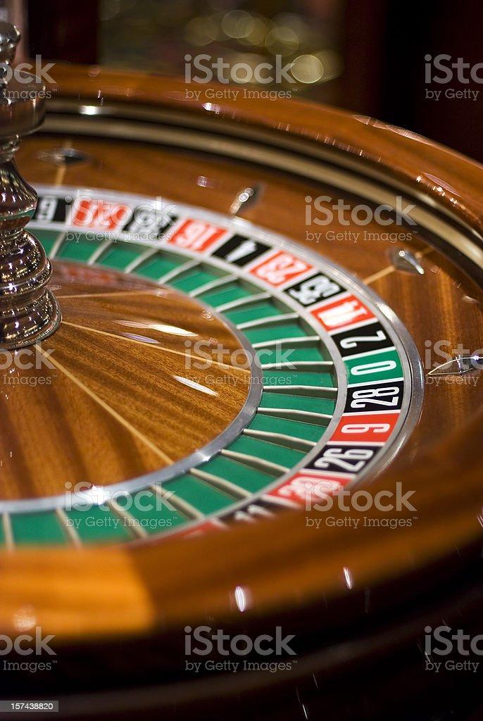 zero roulette royalty-free stock photo