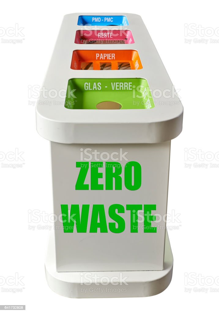 Zero waste concept stock photo