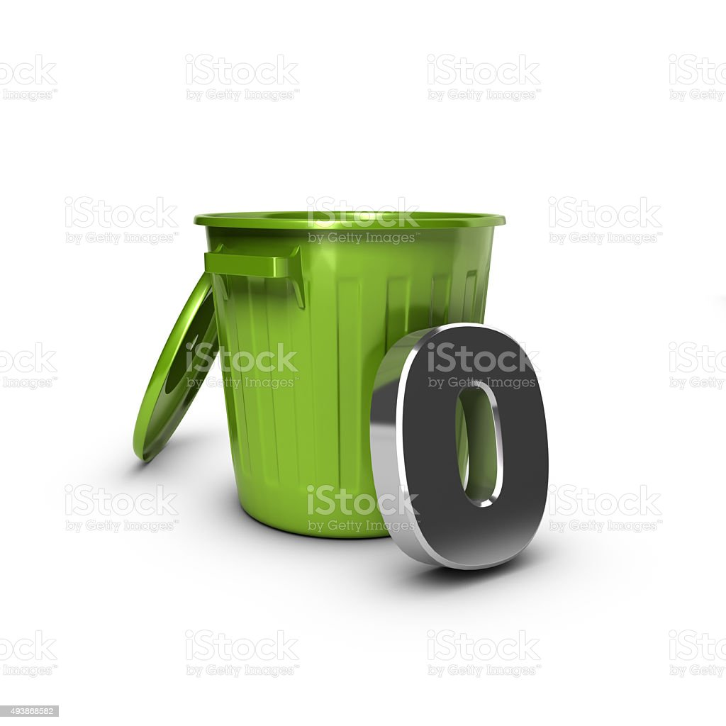 Zero Waste Objective stock photo