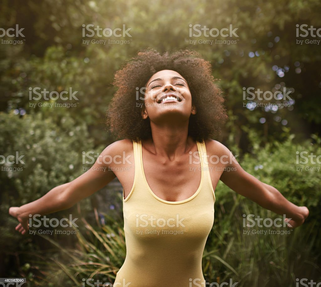 Zest for life! stock photo