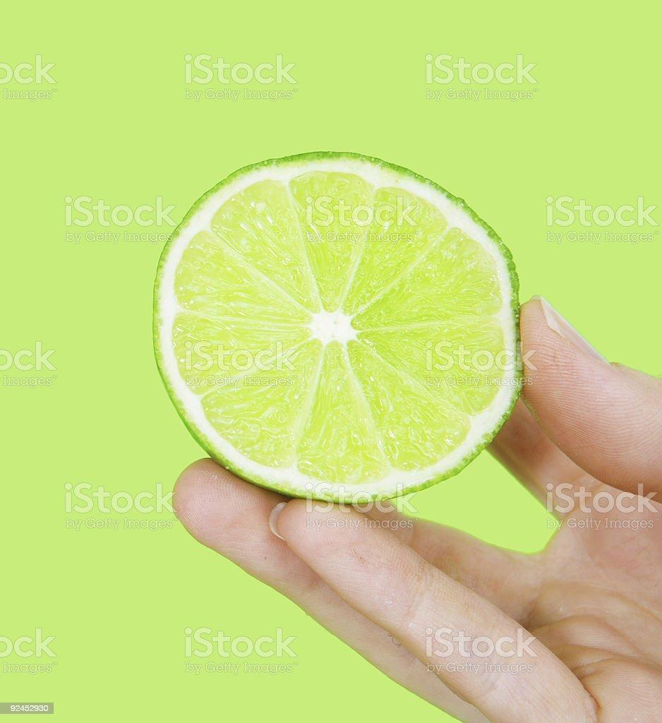 Zesty Lime stock photo