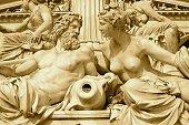 Zeus and Hera at Austria Parliament Building, Vienna