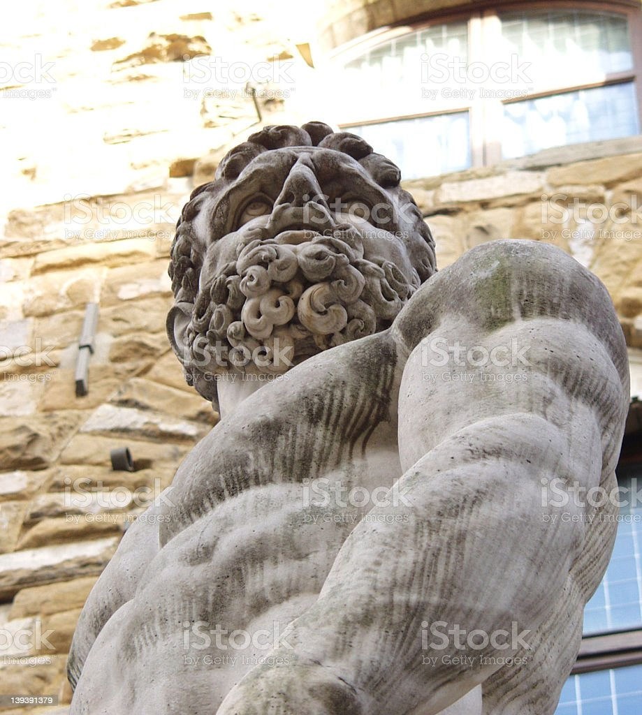 Zeus in Florence royalty-free stock photo