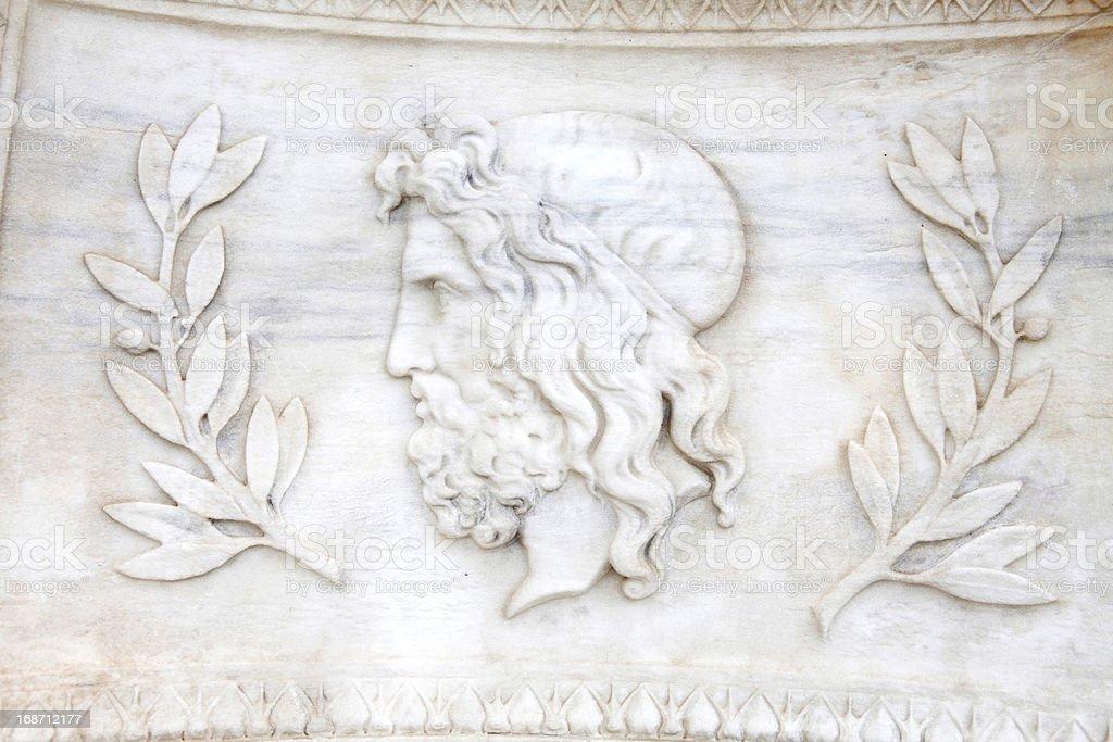 Zeus royalty-free stock photo