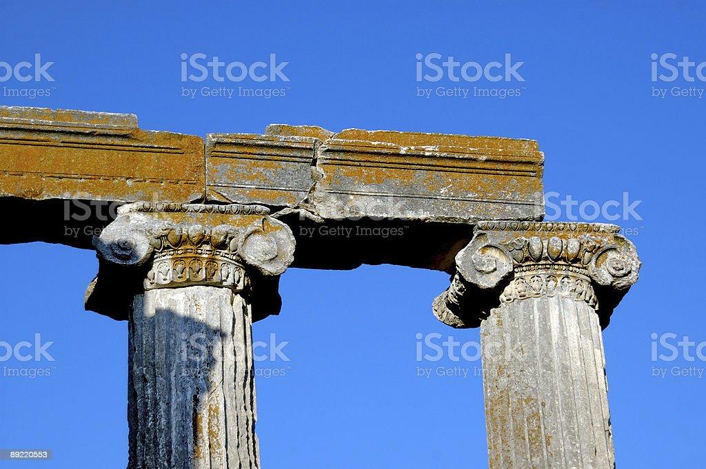 Zeus Temple of Aizanoi stock photo