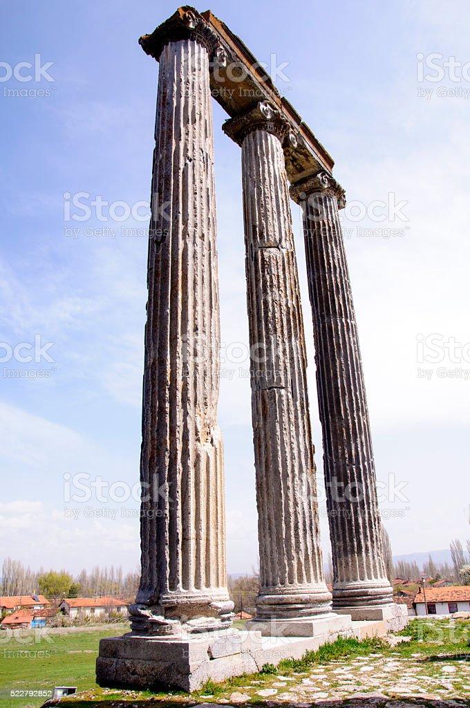 Zeus Temple stock photo