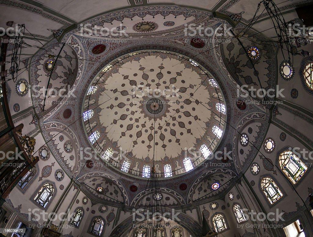 Zeynep Sultan Mosque royalty-free stock photo