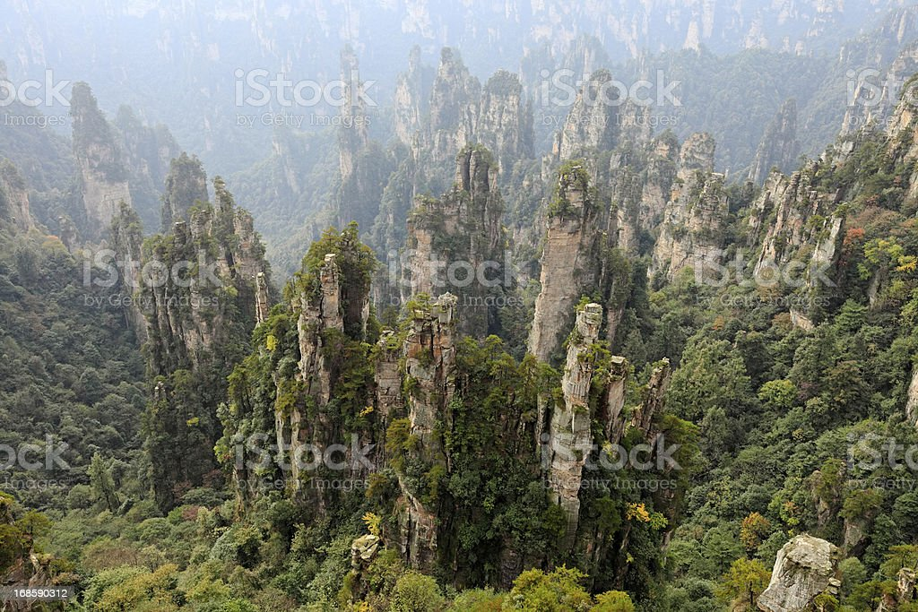Zhangjiajie, China stock photo