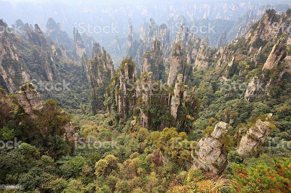 Zhangjiajie, China stock photo