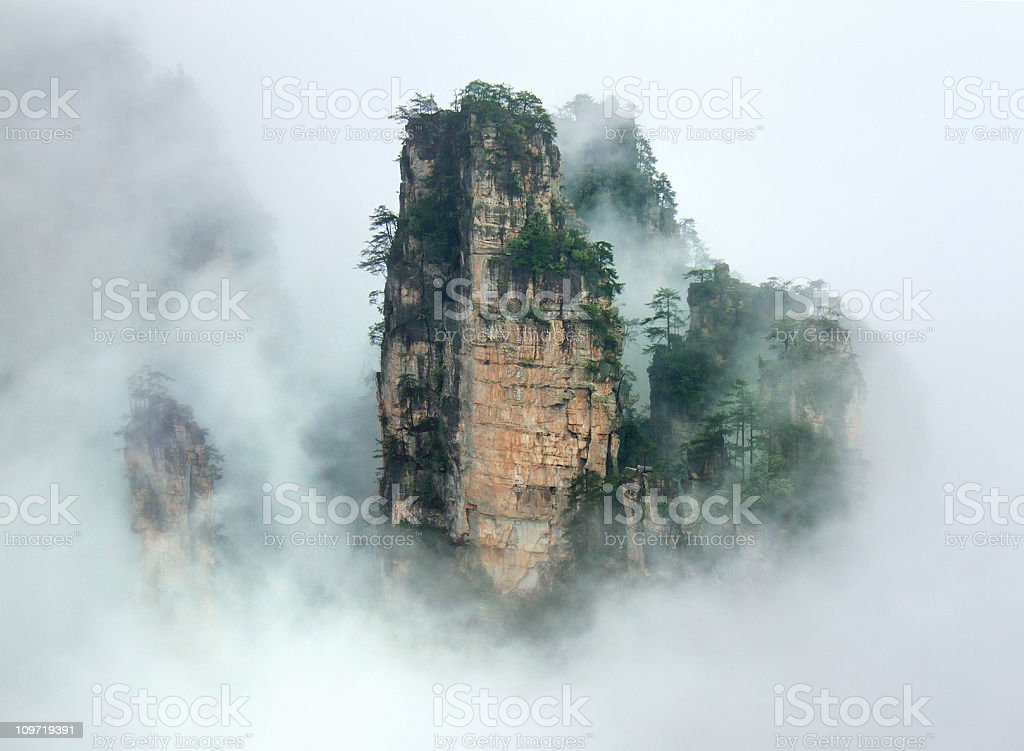 Zhangjiajie National Forest stock photo
