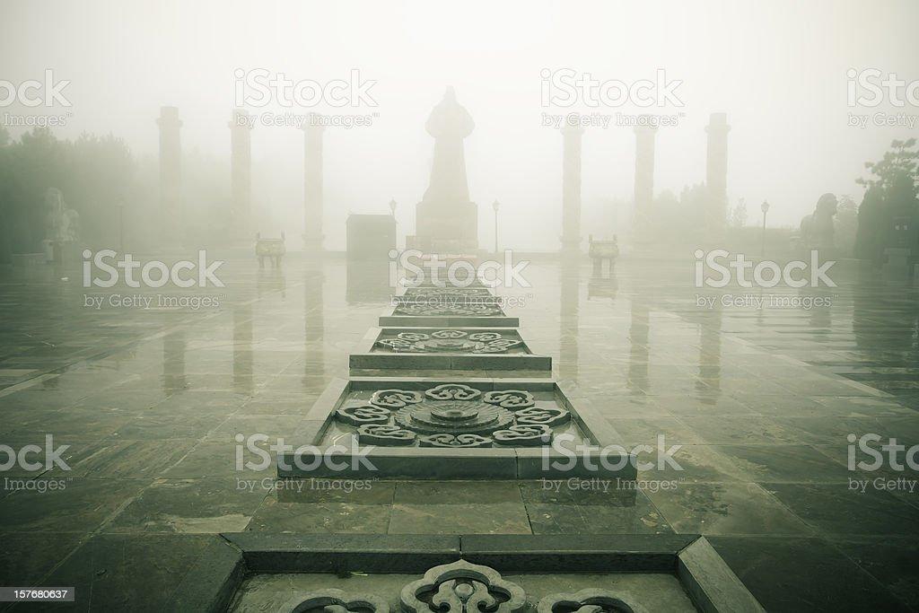 Zhaoling Mausoleum,xi'an royalty-free stock photo