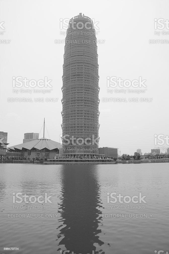 Zhengzhou Greenland Plaza skyscraper, Henan, China stock photo